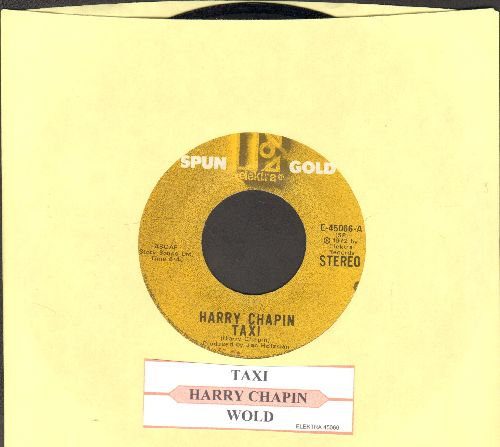 Chapin, Harry - Taxi/Wold (double-hit re-issue with juke box label) - EX8/ - 45 rpm Records