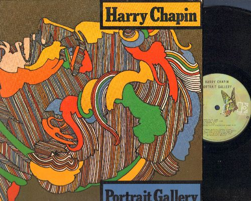 Chapin, Harry - Portrait Gallery: Dreams Go By, Someone Keeps Calling My Name, Bummer, The Rock (Vinyl STEREO LP record) - NM9/EX8 - LP Records