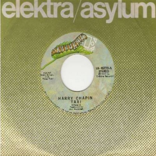 Chapin, Harry - Taxi/Empty (with Elektra company sleeve) - EX8/ - 45 rpm Records