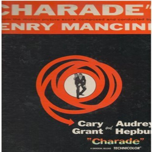 Mancini, Henry - Charade - Music From The Motion Picture Score Composed and Conducted by Henry Mancini (Vinyl MONO LP record) - NM9/EX8 - LP Records