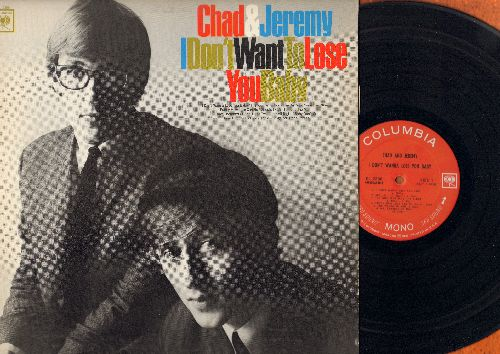 Chad & Jeremy - I Don't Want To Lose You Baby: Mr. Tambourine Man, Baby Don't Go, Funny How Love Can Be (Vinyl MONO LP record) - EX8/EX8 - LP Records