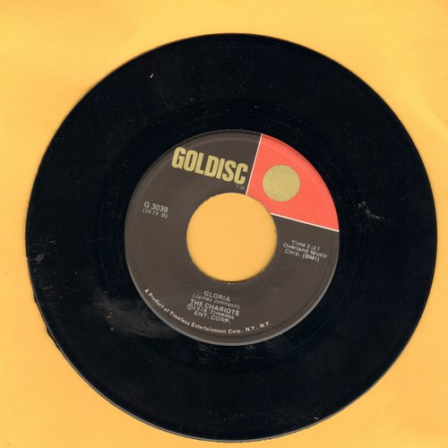 Chariots - Gloria/I've Had It (by The Bell Notes on flip-side) (re-issue) - NM9/ - 45 rpm Records