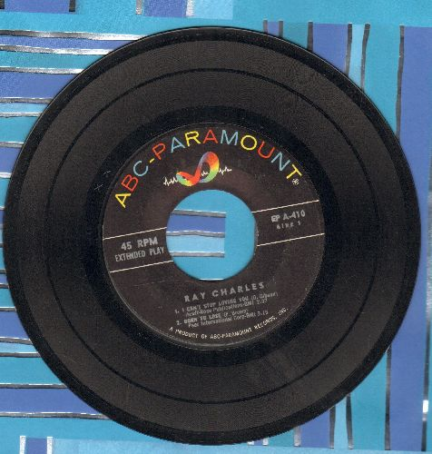 Charles, Ray - I Can't Stop Loving You/Born To Lose/You Don't Know Me/Careless Love (vinyl EP record, no picture cover) - VG7/ - 45 rpm Records