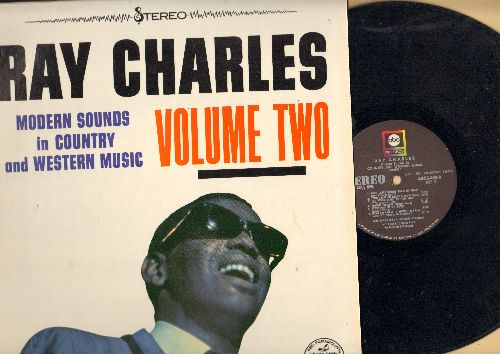 Charles, Ray - Modern Sounds In Country and Western Music Vol. 2: You Are My Sunshine, Your Cheating Heart, Oh Lonesome Me, Teardrops In My Heart (vinyl STEREO LP record) - EX8/NM9 - LP Records