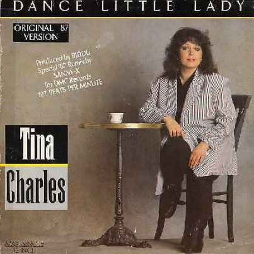 Charles, Tina - Dance Little Lady Dance/I Go Where The Music Takes Me (12 inch vinyl Maxi Single featuring Extended Dance Versions, with picture cover) - VG7/VG6 - Maxi Singles