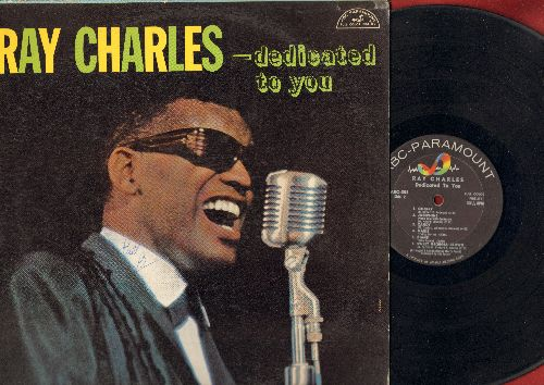 Charles, Ray - Dedicated To You: Hardheaded Hannah, Nancy, Ruby, Marie, Sweet Georgia Brown (Vinyl MONO LP record) - VG7/VG7 - LP Records