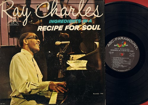 Charles, Ray - Ingredients In A Recipe For Soul: Ol' Man River, Busted, Over The Rainbow, You'll Never Walk Alone (Vinyl MONO LP record) - EX8/VG6 - LP Records