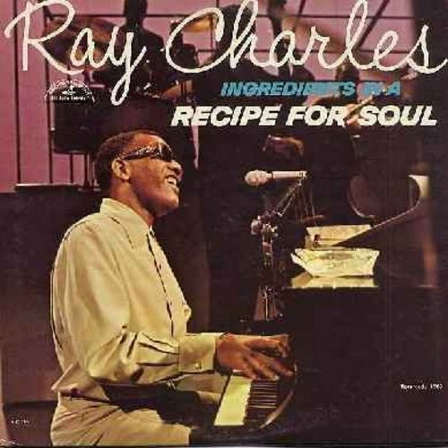 Charles, Ray - Recipe For Soul: Busted, Born To Lose, Ol' Man River, Over The Rainbow, You'll Never Walk Alone (Vinyl Mono LP record) - M10/VG7 - LP Records