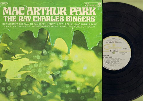 Charles, Ray Singers - Mac Arthur Park: Honey, Do You Know The Way To San Joese, Don't Just Stand There (Vinyl STEREO LP record, gate-fold cover) - NM9/EX8 - LP Records
