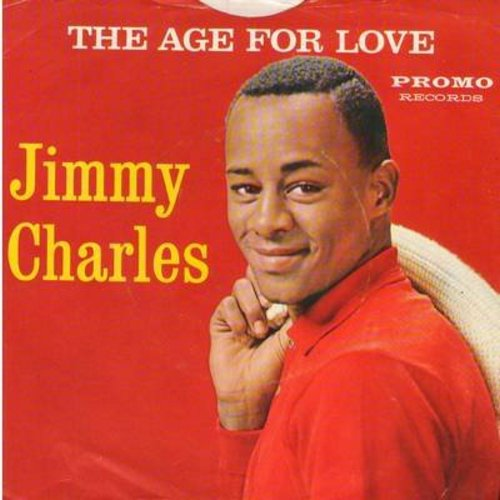 Charles, Jimmy - The Age For Love/Follow The Swallow (multi-color label with picture sleeve) - M10/EX8 - 45 rpm Records