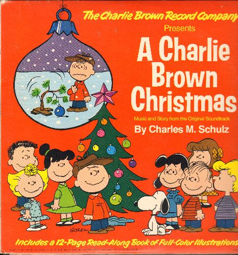 A Charlie Brown Christmas - A Charlie Brown Christmas - Music and story from the Original Soundtrack by Charles M. Schulz (vinyl LP record, gate-fold cover with full color picture pages) - NM9/EX8 - LP Records