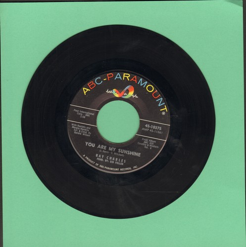 Charles, Ray - You Are My Sunshine/Your Cheating Heart - VG7/ - 45 rpm Records