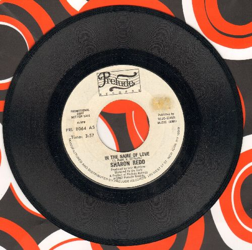 Redd, Sharon - In The Name Of Love/Never Give You Up - NM9/ - 45 rpm Records