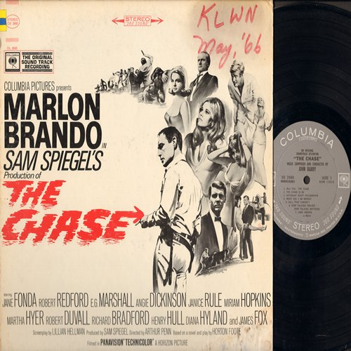 Barry, John - The Chase - Original Motion Picture Sound Track (Vinyl STEREO LP record, wol) - NM9/VG6 - LP Records