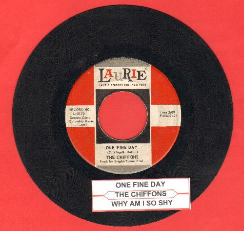 Chiffons - One Fine Day/Why Am I So Shy (with juke box label) - VG7/ - 45 rpm Records