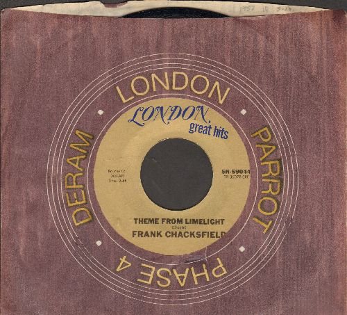 Chacksfield, Frank & His Orchestra - Theme From Limelight (Smile)/Ebb Tide (double-hit re-issue with company sleeve) - NM9/ - 45 rpm Records