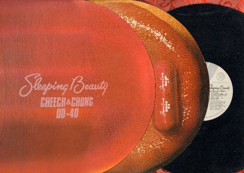 Cheech & Chong - Sleeping Beauty  (Vinyl STEREO LP record, unique gate-fold cover with slide-out tongue) - NM9/NM9 - LP Records