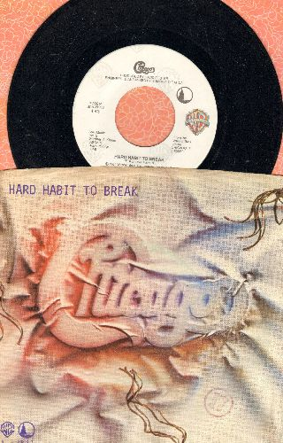 Chicago - Hard Habit To Break/Remember The Feling (with picture sleeve) - NM9/EX8 - 45 rpm Records