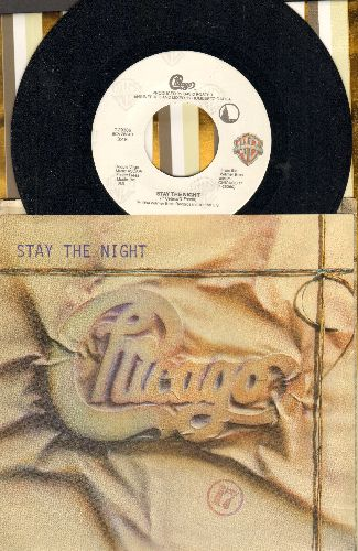 Chicago - Stay The Night/Only You (with picture sleeve) - NM9/EX8 - 45 rpm Records