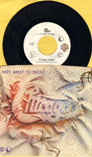 Chicago - Hard Habit To Break/Remember The Feeling (with picture sleeve) - NM9/EX8 - 45 rpm Records