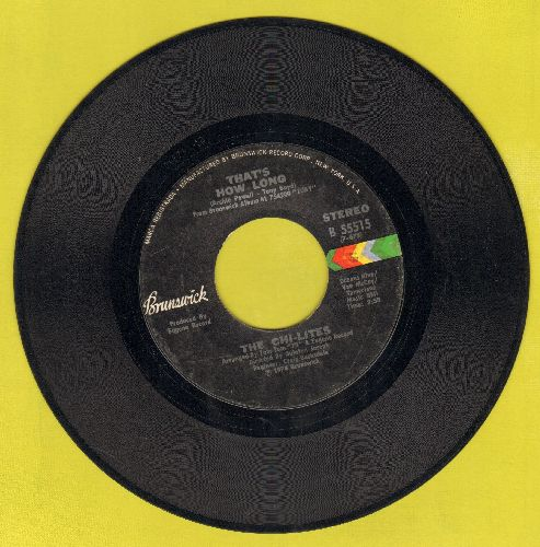 Chi-Lites - That's How Long/Toby - EX8/ - 45 rpm Records