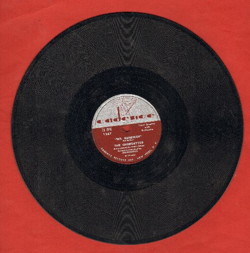 Chordettes - Mr. Sandman/I Don't Wanna See You Cryin' (10 inch 78 rpm record) - VG7/ - 78 rpm