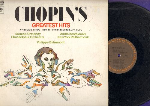 Ormandy, Eugene conducting The Philadelphia Orchestra - Chopin's Greatest Hits: Prelude In Major, Minute Waltz In D-Flat, Polonaise In A-Flat (vinyl STEREO LP record) - NM9/EX8 - LP Records