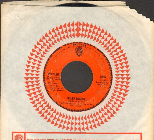 Chylds - Psychedelic Soul/Deep Inside (with Warner Brothers company sleeve) - VG6/ - 45 rpm Records