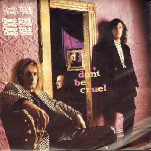 Cheap Trick - Don't Be Cruel/I Know What I Want (with picture sleeve) - NM9/EX8 - 45 rpm Records