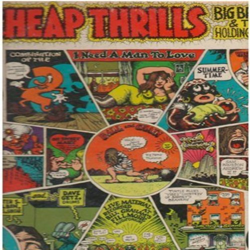Big Brother & The Holding Company - Cheap Thrills: Piece Of My Heart, Summertime, Ball And Chain, Oh Sweet Mary (Vinyl STEREO LP record, gate-fold cover) - EX8/VG6 - LP Records