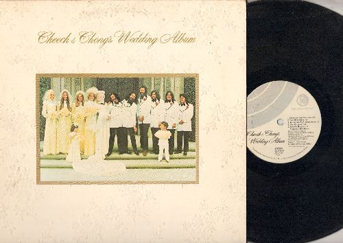 Cheech & Chong - Cheech & Chong's Wedding Album (Vinyl STEREO LP record, gate-fold cover) - EX8/VG7 - LP Records