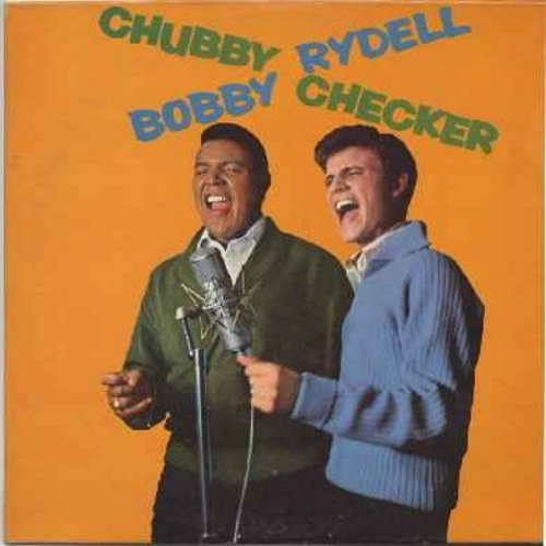 Checker, Chubby & Bobby Rydell - Bobby Rydell - Chubby Checker: Swingin' Together: Jingle Bell Rock, Teach Me To Twist, Side By Side, Your Hits And Mine, Jingle Bells Imitations, What Are You Doing New Year's Eve? (Vinyl LP record) - VG7/VG7 - LP Records