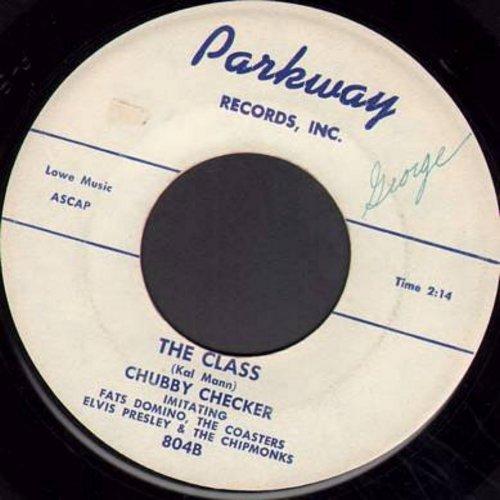 Checker, Chubby - The Class/Schooldays, Oh, Schooldays (RARE Pre-Twist Chubby Checker Novelties!) - VG6/ - 45 rpm Records