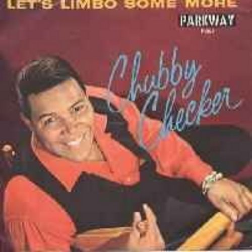 Checker, Chubby - Let's Limbo Some More/Twenty Miles (with picture sleeve) - M10/EX8 - 45 rpm Records