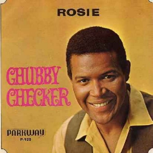 Checker, Chubby - Lazy Elsie Molly/Rosie (You've Got A Little Heart Of Gold) (with picture sleeve) - NM9/EX8 - 45 rpm Records