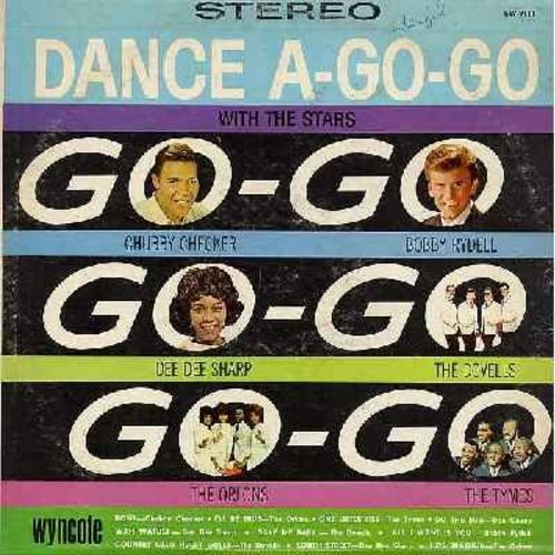 Checker, Chubby & Others - Dance A-Go-Go:Starring Bobby Rydell, Dee Dee Sharp, Dovells, Orlons, Tymes (Vinyl STEREO LP record) - EX8/VG7 - LP Records
