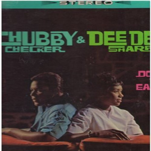 Checker, Chubby & Dee Dee Sharp - Down To Earth: Let The Good Times Roll, Do You Love Me, Loving You, Pledging My Love (Vinyl LP record, RARE STEREO pressing) - EX8/EX8 - LP Records