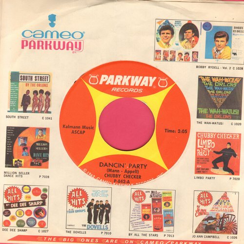 Checker, Chubby - Dancin' Party/Gotta Get Myself Together (with RARE vintage Parkway-Cameo company sleeve) - M10/ - 45 rpm Records