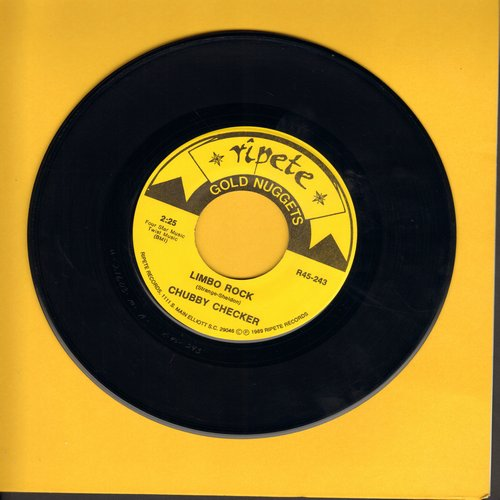 Checker, Chubby - Limbo Rock/Pony Time (double-hit re-issue) - NM9/ - 45 rpm Records