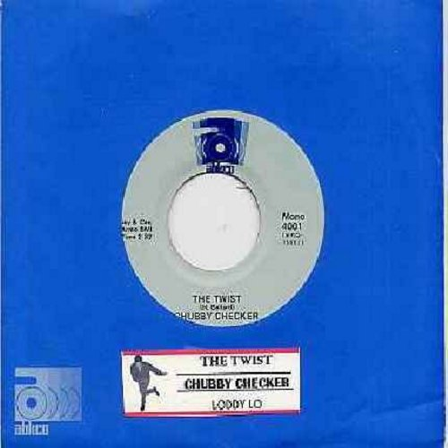Checker, Chubby - The Twist (PARTY FAVORITE!)/Loddy Lo (double-hit re-issue with Abkco company sleeve and juke box label) - NM9/ - 45 rpm Records