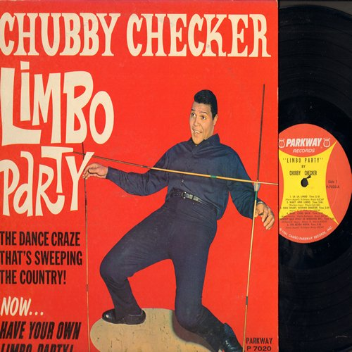 Checker, Chubby - Limbo Party: La La Limbo, Mary Ann Limbo, Limbo Rock, La Bamba, Jamaica Farewell (vinyl MONO LP record) - EX8/EX8 - LP Records