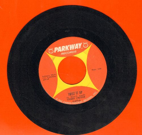 Checker, Chubby - Twist It Up/Surf Party  - EX8/ - 45 rpm Records