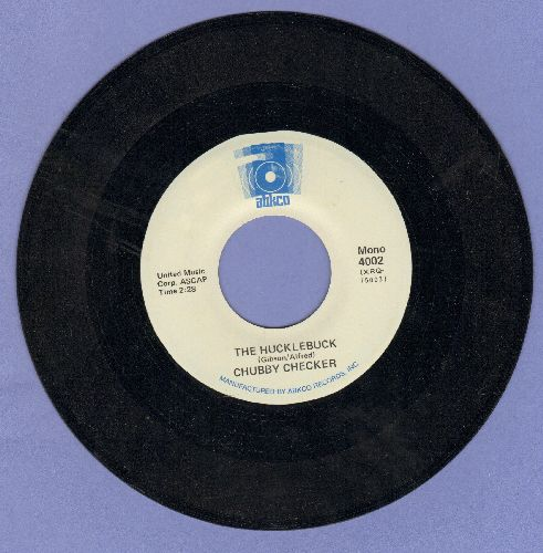 Checker, Chubby - The Hucklebuck/Pony Time (double-hit re-issue) - EX8/ - 45 rpm Records