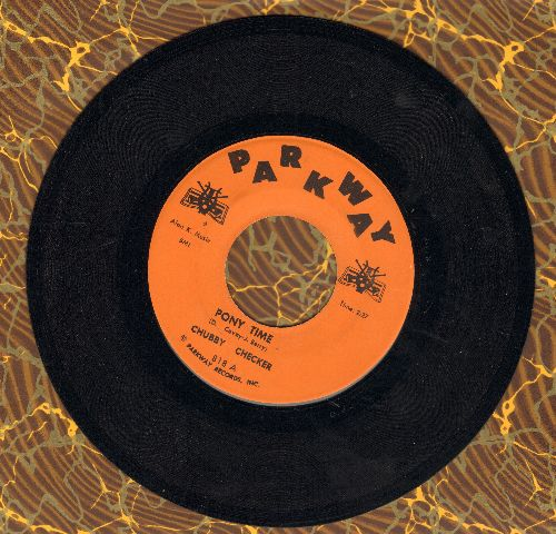 Checker, Chubby - Pony Time/Oh, Susannah (orange label first pressing) - NM9/ - 45 rpm Records