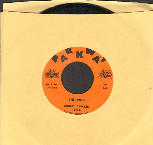 Checker, Chubby - The Twist/Toot (note different flip-side, RARE orange label early pressing!) - NM9/ - 45 rpm Records