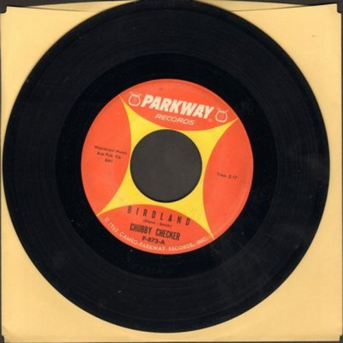 Checker, Chubby - Birdland/Black Cloud (with juke box label) - EX8/ - 45 rpm Records