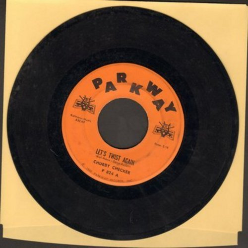 Checker, Chubby - Let's Twist Again/Everything's Gonna Be All Right - VG7/ - 45 rpm Records
