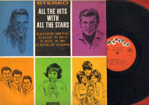 Checker, Chubby, Dee Dee Sharp, Orlons, Dovells, Rockyfellers, Lee Andrews, Bobby Rydell, Tymes - All The Hits With All The Stars: So Much In Love, South Pacific Twist, Don't Throw Your Love Away, Stompin' Everywhere, Wild, The Fly (Vinyl LP record) - EX8