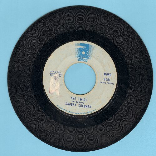 Checker, Chubby - The Twist (PARTY FAVORITE!)/Loddy Lo (double-hit re-issue) - VG7/ - 45 rpm Records