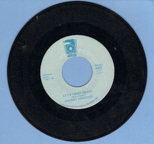 Checker, Chubby - Let's Twist Again/Limbo Rock (early double-hit re-issue) - EX8/ - 45 rpm Records